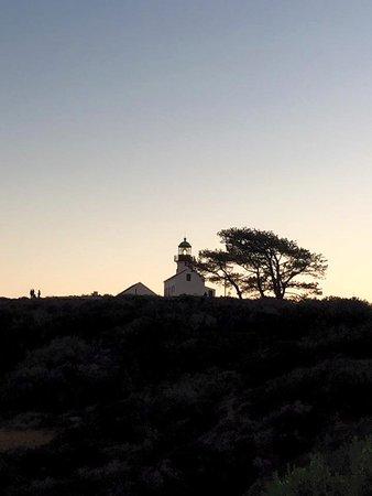 Old Point Loma Lighthouse: Atardecer en Point Loma
