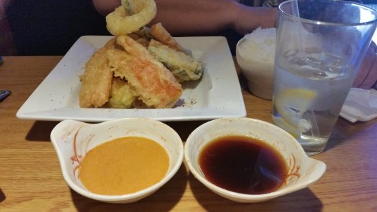 Florence, CO: Vegetable tempura