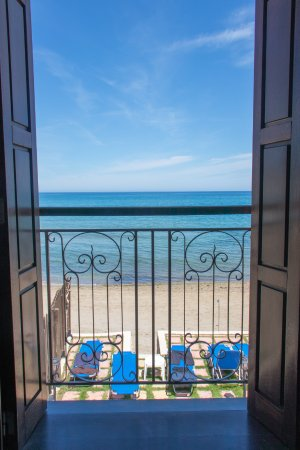 Creta Seafront Suites: View from the main bedroom
