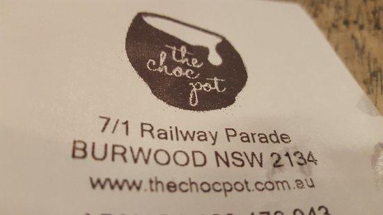 The Choc Pot: Address
