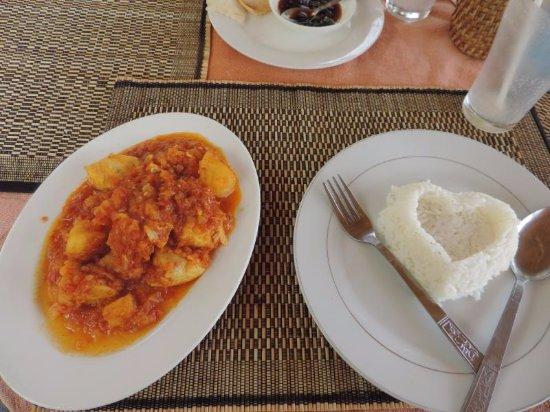 Shan State, Myanmar: Nicely presented food