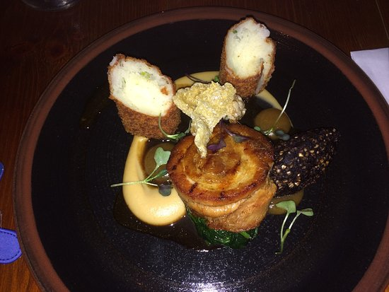 Howard Street: Most delicious food I ate in Belfast... fabulous!