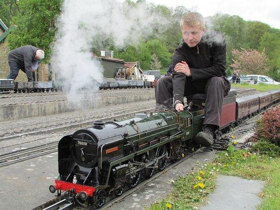 Gilling East, UK: Robin Hood - the train, not the bloke