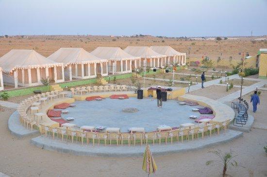 Sam, Indien: desert camp