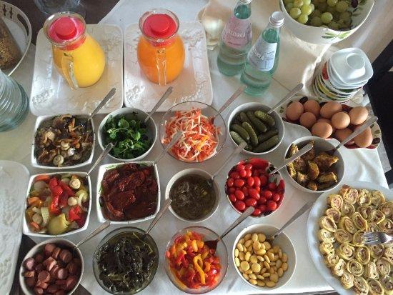 Villa Emma Malcesine: Breakfast