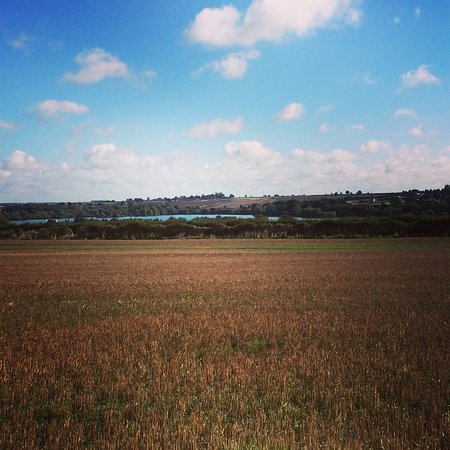 View from Islip looking over to Thrapston lakes.