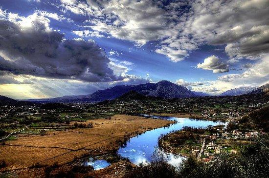 Posta Fibreno, Italy: Panorama