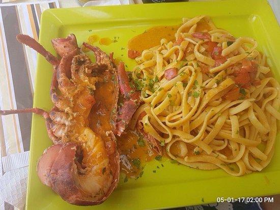 Cafe Sicilia: Astice favoloso