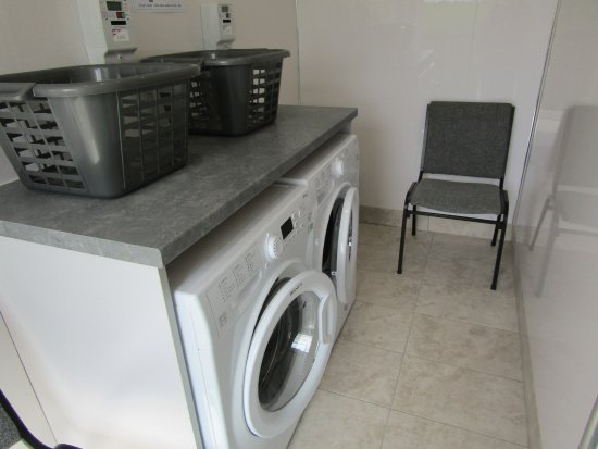 Anderby Creek, UK: New Laundry Facilities