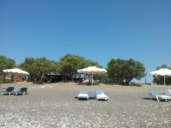 Gennadi, Greece: Пляж
