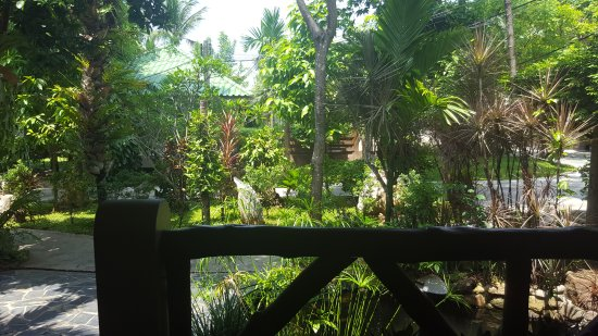 Lamai Inn 99: View from room balcony.