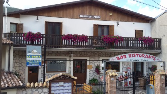 Lucoli, Italy: Il Brigante Maino