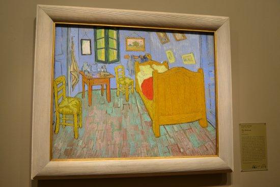 The Art Institute Of Chicago: The Bedroom. Vincent Van Gogh.