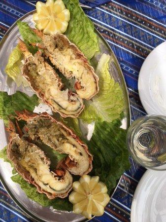 Κυρά Παναγιά, Ελλάδα: Karavida cooked already - best !!!