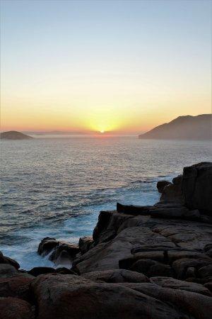 Albany, Australia: Sunset at The Gap