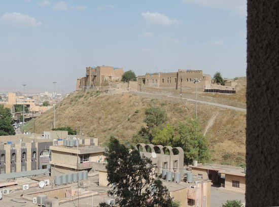 Erbil Tower Hotel : The citadel right outside.