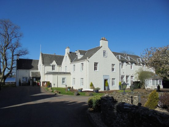 Port of Menteith, UK: The Hotel