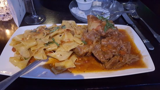 Veal Osso Bucco at Ludal's in North Haven