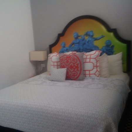 Monastery Art Suites King Size Bed In One Room With Large Doors That Go
