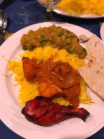 Royal India Restaurant Dinner At Tandoori En Tikka Masala