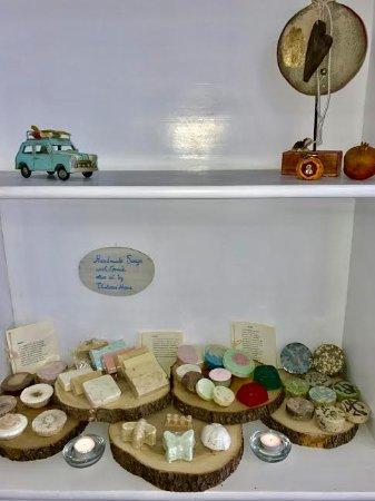 Kastraki, Grecia: Handmade Soaps provided