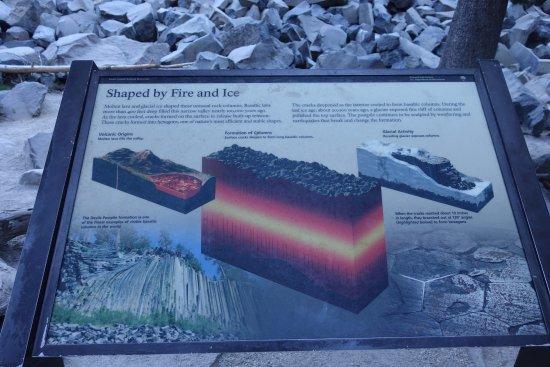 Devils Postpile National Monument: How the postpile was formed