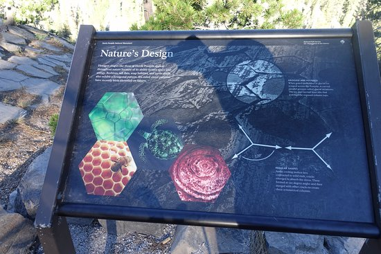 Devils Postpile National Monument: Another science sign explaining how the postpile formed