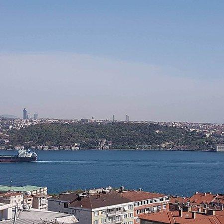 Conrad Istanbul Bosphorus: Bar View