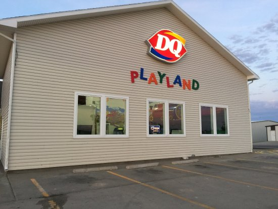 The Dairy Queen is in the Love's Truck Stop at Ellis Exit off I-70.
