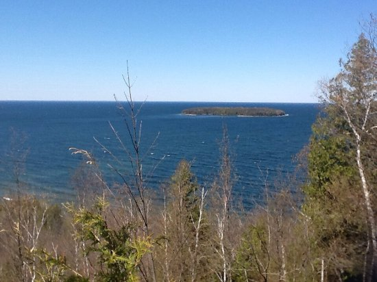 Along the eagle trail picture of peninsula state park for Fish creek wi weather
