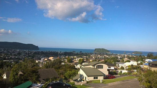 Whangamata from Pacific View