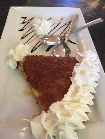 Buttermilk Pie, Cornucopia, Cashiers, NC