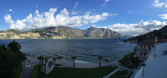 Hotel Castello Lake Front: View from our room