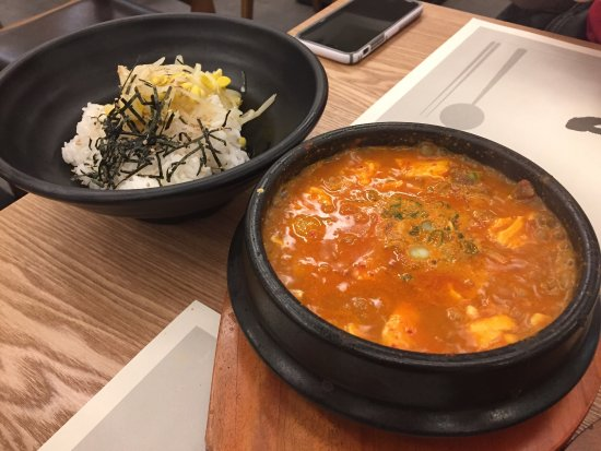 Chamblee, Geórgia: Awesome food at Dish, the new Korean restaurant next to Food Terminal. We ordered the bulgogi, t