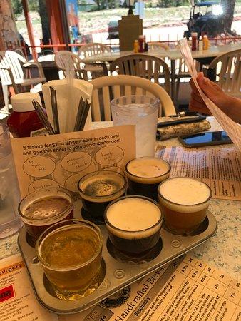 Pine, AZ: beer flight