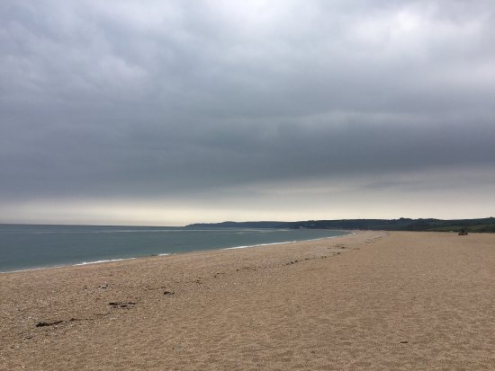 Strete, UK: Coffee with a view
