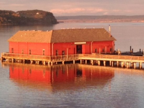 We're located right on the water on the historic Coupeville wharf. Can't beat our location!
