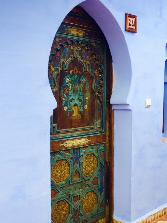 Hotel Riad Casa Hassan Restaurante: beautiful doors