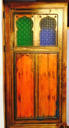 Hotel Riad Casa Hassan Restaurante: lots of beautiful doors