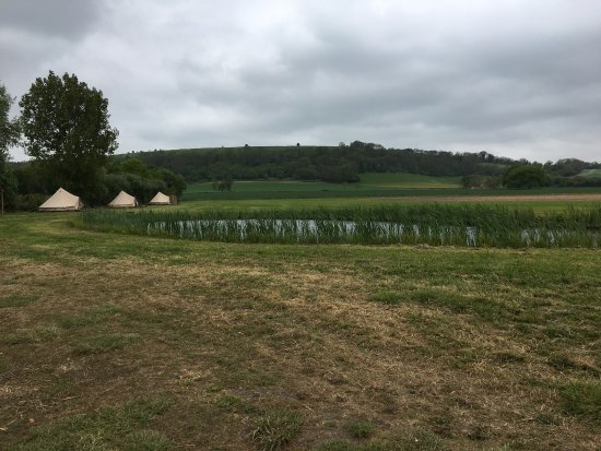 Bowerchalke, UK: Beautiful glamping site away from it all