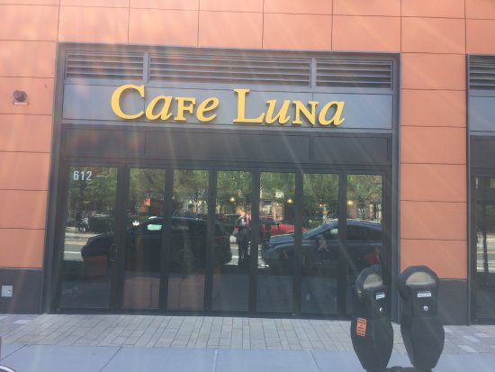 The entrance - Picture of Cafe Luna, Cambridge - TripAdvisor