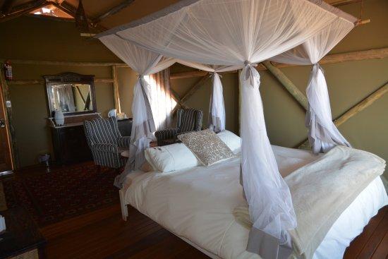 Kalkrand, Namibia: Luxueuse tent lodge
