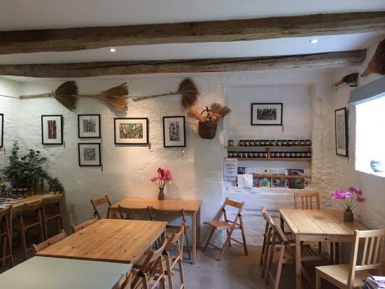 Stillingfleet, UK: Inside the tea room