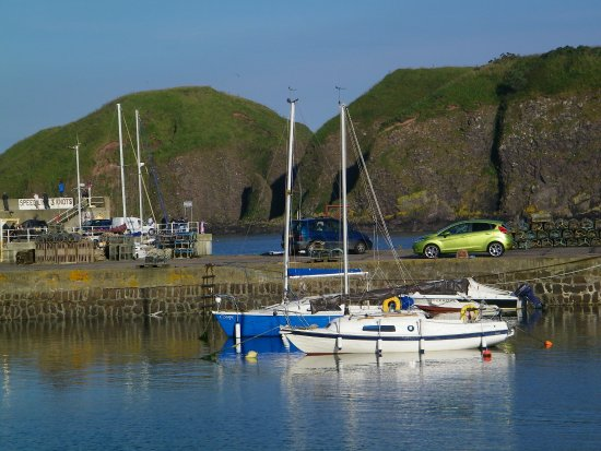 Stonehaven, UK: habour