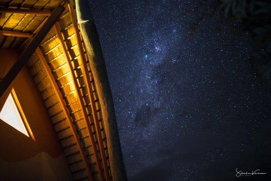 Didima Camp: Der Vorteil wenn es Nachts kein Licht gibt, man sieht die Sterne.