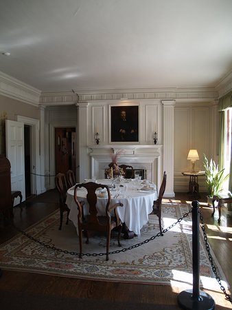 Manchester, Вермонт: The Diningroom at Hildene, Lincoln Family Home, Vermont