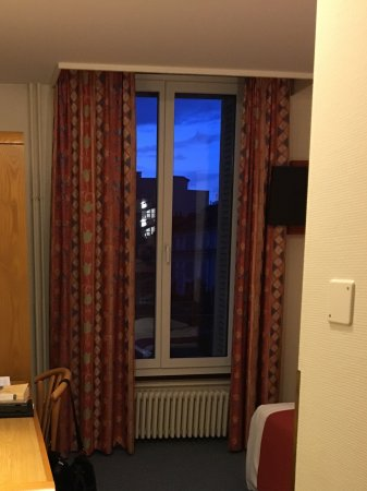 Hotel Aulac: Single room, city view