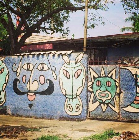 آرت هوتل ماناجوا نيكاراجوا: Street art in the Art Hotel neighbourhood