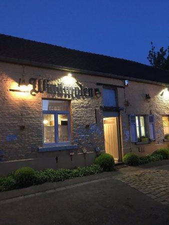 Limburg Province, Belgium: Outside the restaurant