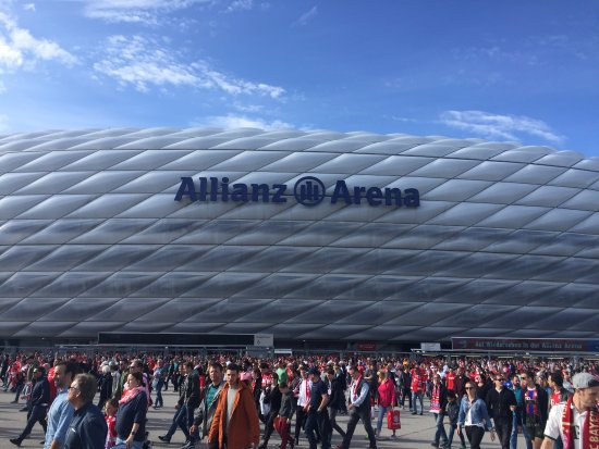 fc bayern sv darmstadt 98 bild von allianz arena m nchen tripadvisor. Black Bedroom Furniture Sets. Home Design Ideas